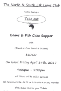Beans & Fish Cake Supper