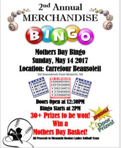 Merchandise Bingo