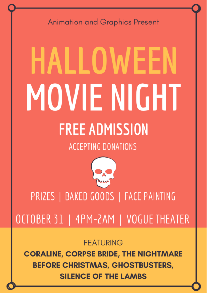 NBCC Halloween Movie Night - Events - The River 99 3