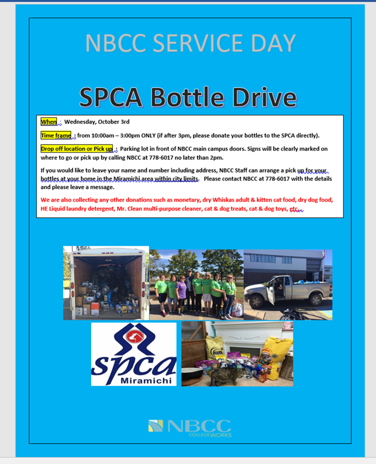 Service Learning 2018 SPCA