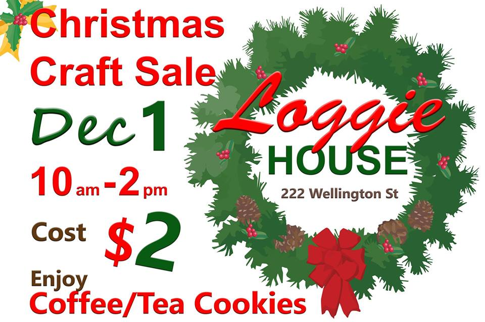 loggie house christmas craft sale 2018