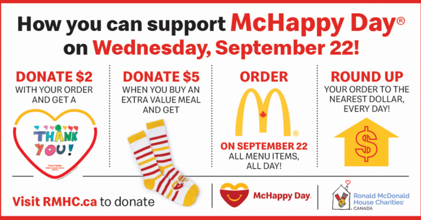 It's McHappy Day! - Blog - 99.3 The River